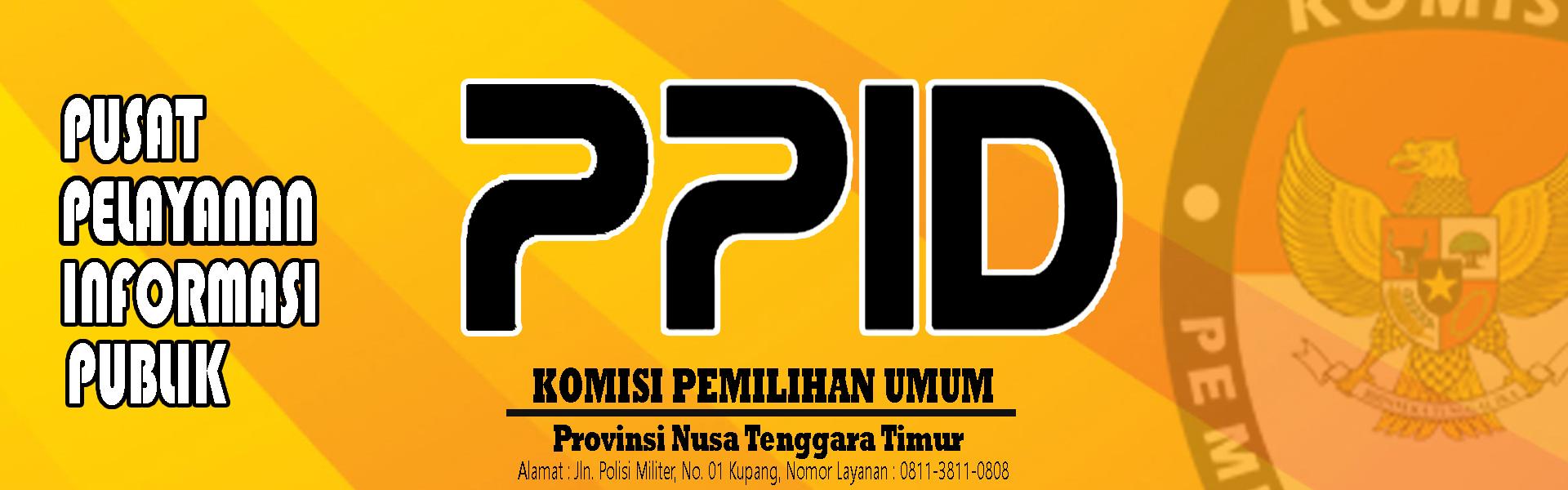 PPID Komisi Pemilihan Umum Provinsi Nusa Tenggara Timur